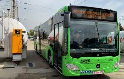 Societatea de Transport București a recepționat primul autobuz Mercedes-Benz Citaro Hybrid
