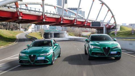 Alfa Romeo Giulia și Stelvio Quadrifoglio facelift: update tehnic pentru versiunile performante