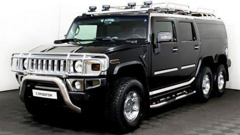 Hummer H2 6×6 blindat de vânzare pe un site de anunțuri din Rusia