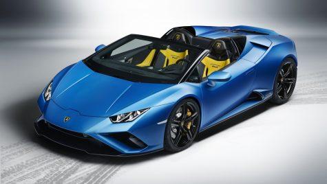 Lamborghini Huracan Evo RWD Spyder: informații și fotografii oficiale