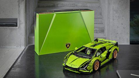 Lamborghini Sian FKP 37 în versiune Lego Technic