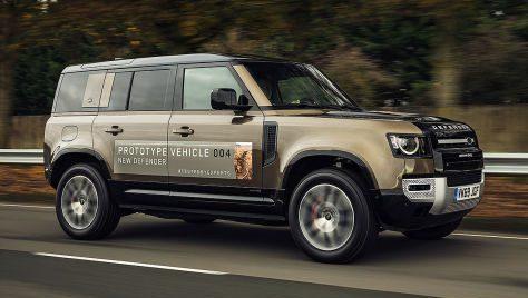 Noul Land Rover Defender V8
