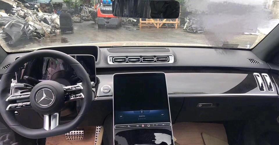 mercedes S-Class 2020 leak