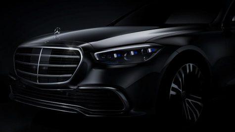 Mercedes-Benz S-Class: prima imagine oficială cu noua generație a modelului german