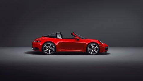 Noul Porsche 911 Targa: informații și fotografii oficiale