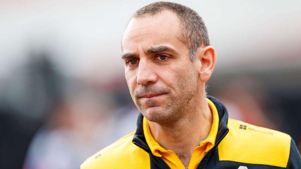 Renault F1 - Cyril Abiteboul