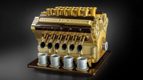 Espressoare de cilindree mare pentru pasionatul de automobile