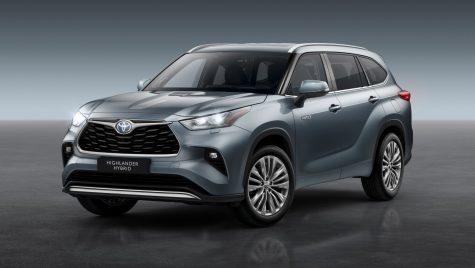 Toyota Highlander: SUV-ul japonez cu șapte locuri sosește în Europa