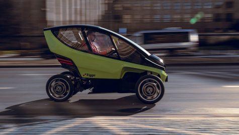 Triggo: vehicul urban cu propulsie electrică și lățime ajustabilă