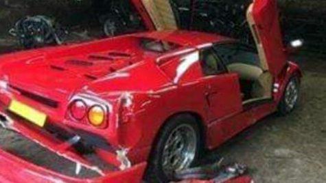 Top Gear vs Lamborghini Diablo: accident la filmări