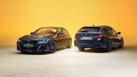 BMW Alpina B5 și D5 S facelift: versiuni performante bazate pe actualul Seria 5