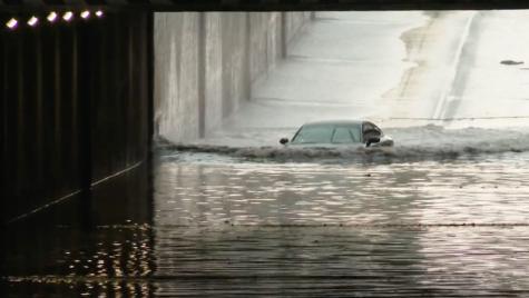 VIDEO: Șoferul unui Audi A7 descoperă că sistemul Quattro nu funcționează sub apa