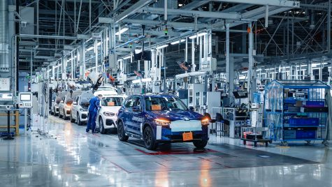 SUV-ul electric BMW iX3 este deja pe linia de asamblare