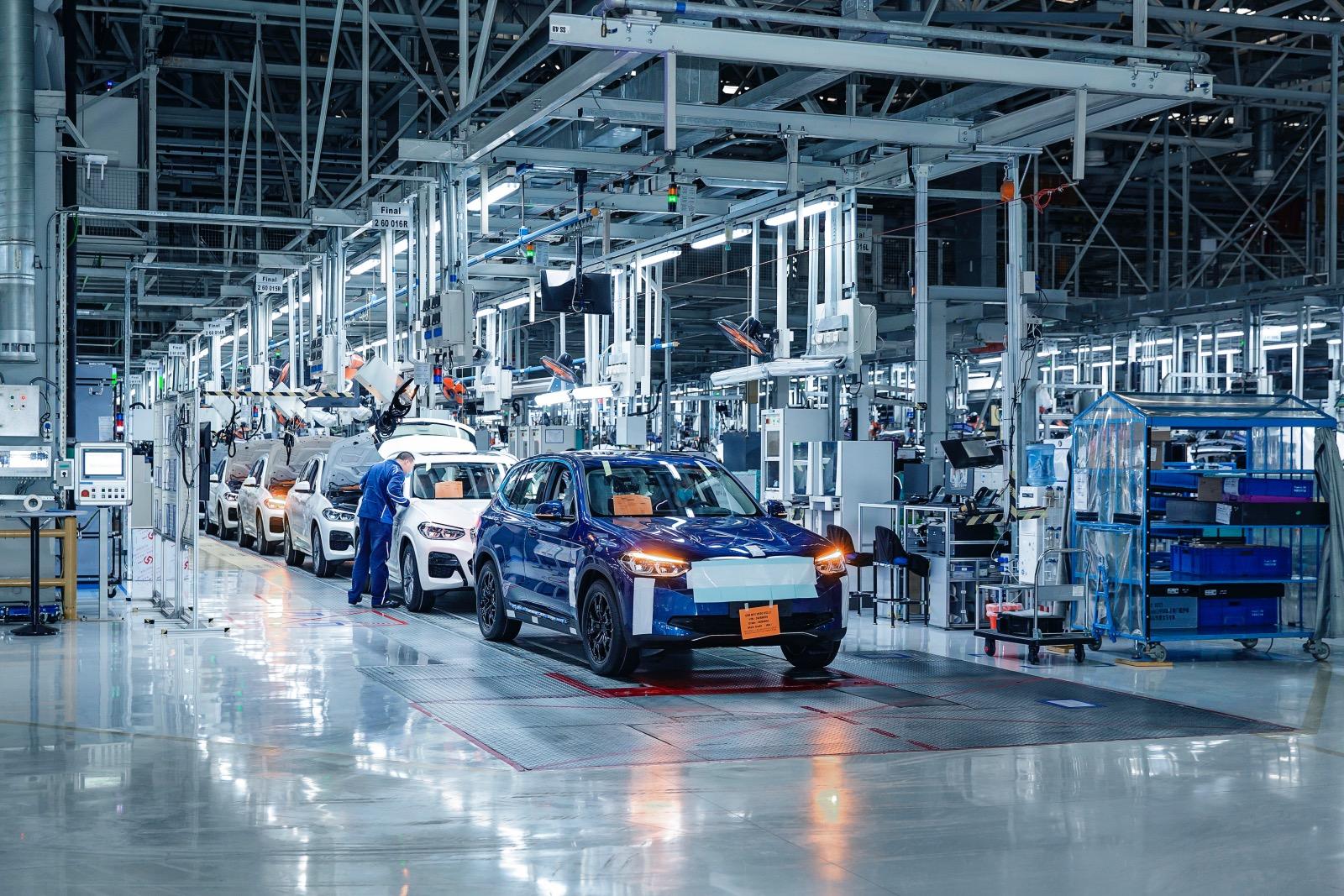 BMW iX3 productie