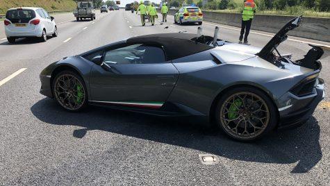 Lamborghini Huracan Performante distrus la doar 20 de minute după livrare