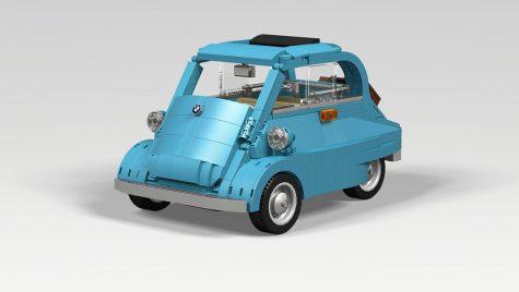 BMW Isetta recreat din piese LEGO