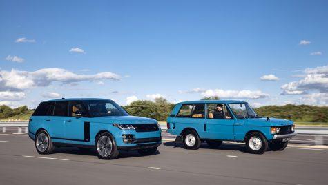 Modelul Range Rover a împlinit 50 de ani de existență