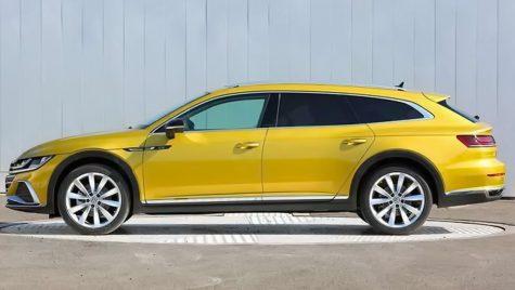 Volkswagen Arteon Shooting Brake: primele imagini neoficiale