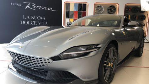 Ferrari Roma – cel mai accesibil Ferrari prezentat oficial în România