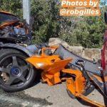 Mclaren Senna accident Monte carlo 2020