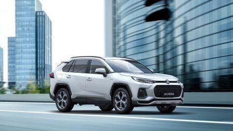 Suzuki Across: SUV plug-un hybrid născut din parteneriatul dintre Suzuki și Toyota