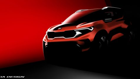 Kia Sonet: prima schiță de design cu cel mai mic SUV din gama constructorului coreean