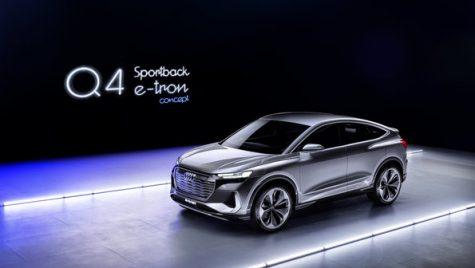 Oficial: Audi Q4 e-tron Sportback Concept pe platforma MEB