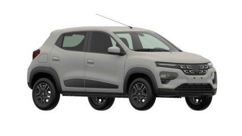 Dacia Spring: imagini neoficiale cu modelul electric românesc