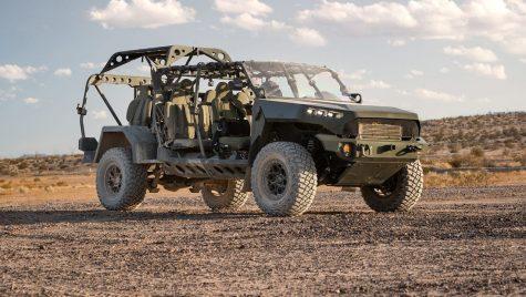 VIDEO: GM Defense ISV este cel mai nou vehicul utilizat de armata americană