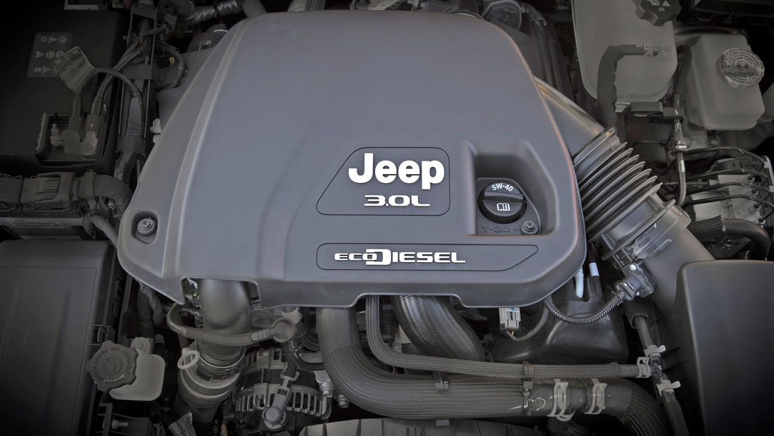 jeep Gladiator V6 diesel