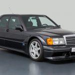 Un Mercedes 190 E 2.5-16 EVO II cu numai 9.307 km scos la vânzare
