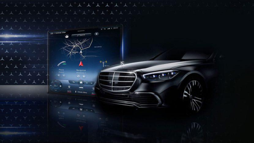 Mercedes S-Class W223 noul mega display