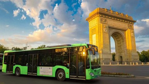 STB a scos pe traseu primele autobuze Mercedes-Benz Citaro Hybrid