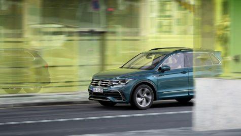 VW Tiguan facelift: în premieră VW Tiguan R și VW Tiguan eHybrid