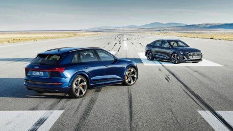 Audi e-tron S și e-tron S Sportback: versiuni perfomante ale SUV-ului electric