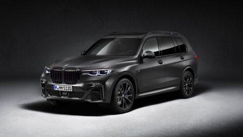 BMW X7 Dark Shadow: ediție limitată de 500 unități pentru SUV-ul bavarez