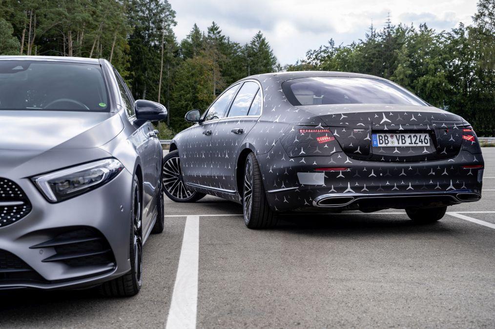direcția integrală Mercedes S-Class W223