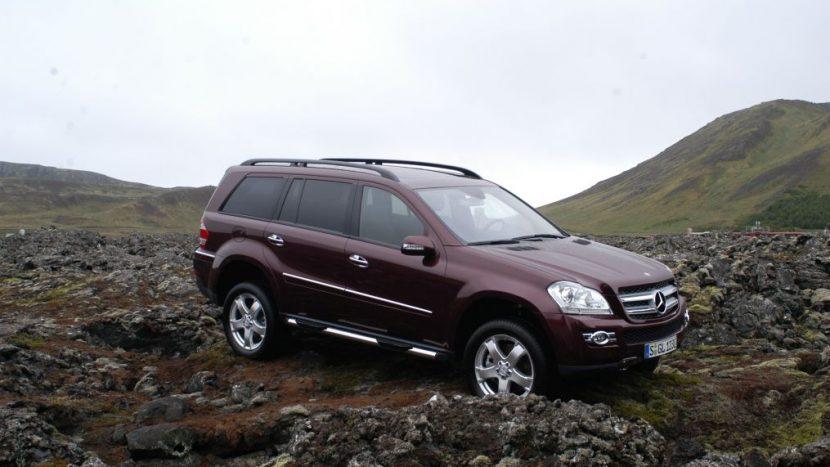 lansările internaționale de mașini Mercedes GL, Islanda 2006