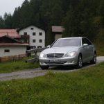 Mercedes S-Class W221, St.Moritz 2005