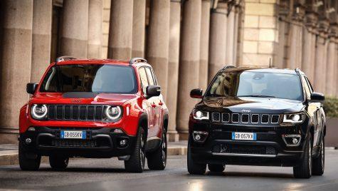 Jeep Renegade 4xe și Compass 4xe: detalii despre versiunile plug-in hybrid