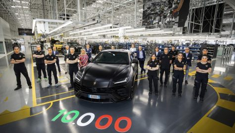 Lamborghini Urus a depășit 10.000 de unități fabricate