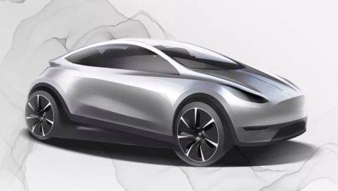 Model compact Tesla concurent cu BMW i3 și VW ID.3