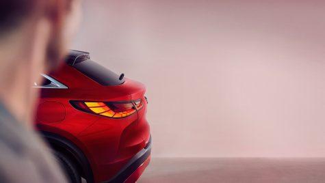 Teaser pentru Infiniti QX55: SUV-ul coupe va fi lansat în 11 noiembrie