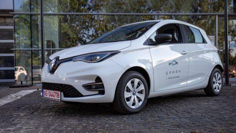 Serviciul de car-sharing Spark adaugă 400 de exemplare Renault Zoe în flota sa