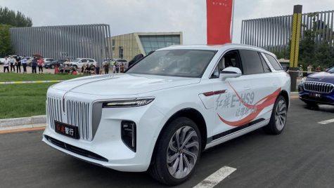 Hongqi E-HS9 este un SUV electric full-size din China