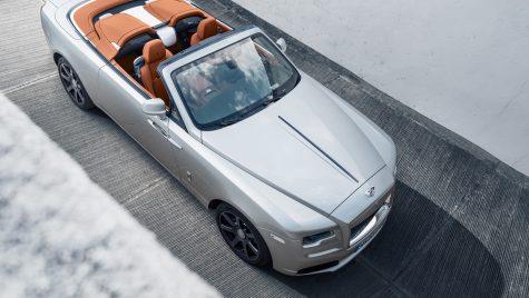 Rolls-Royce Dawn Silver Bullet: ediție specială produsă în doar 50 exemplare