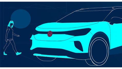 Volkswagen ID.4: teaser nou pentru SUV-ul electric german