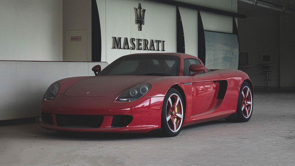 colectie secrete Porsche, Ferrari, Corvette China