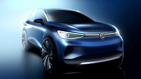 Schițe oficiale de design cu noul Volkswagen ID.4