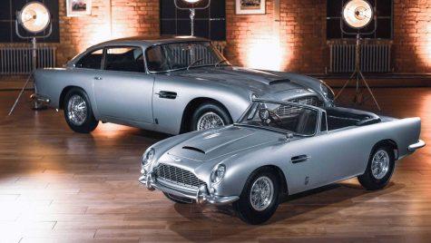 Aston Martin DB5 Junior: model electric pentru cei mici